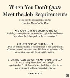 The post How to Land the Job When You're This-Close To Qualified appeared first on Ivanka Trump.