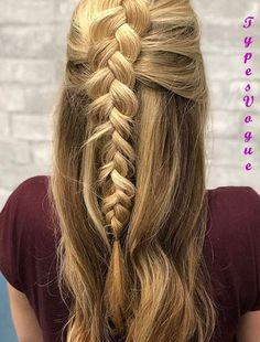 Here you can find the best 2018 Braided Hairstyles styles and ideasyou neet to try in 2018. This braided hairstyles is made up of Multiple braiding styles and ideas. You can see the more different and trendy Styles Here. There are so many ways to wear creative styles and get a rocking looks. There is a center braid with ponytail hairstyles. This is an awesome hairstyles and every girls and women wear this styles.