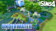 EPIC UNDERWATER HOUSE! - The Sims 4 Speed Build [ES] Underwater House, Underwater Animals, The Sims, Sims House, Animal Crossing, Ts4 Cc, Maxis, Instagram, Building