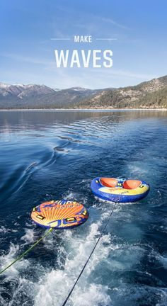 Shop inflatable towable tubes from DICK'S Sporting Goods. Browse all boat tubes and water tubes to fit and riders from Airhead, Wow Sports and more. Activities Near Me, Outdoor Activities For Adults, Boat Tubes, Water Tube, Ticket To Ride, Rappelling, Adventure Activities, Extreme Sports, Rock Climbing