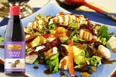 Top off a delicious Cranberry Chicken Salad with our flavorful Hoisin Sauce!