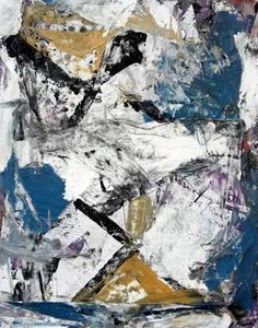 """""""Metro Scatters"""" original abstract painting by artist Matthew Dibble (USA) available at Saatchi Art #SaatchiArt"""