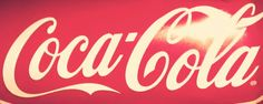 The coca cola font, i like it because its always been the same.
