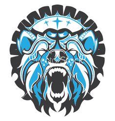 Haida Bear vector image on VectorStock Haida Kunst, Arte Haida, Haida Art, Aztec Tribal Tattoos, Tribal Art, Bear Vector, Vector Art, Illustrator Ai, Native American Thunderbird