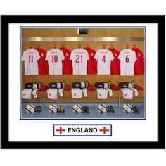 Personalised England Dressing Room Print  from Personalised Gifts Shop - ONLY £29.99