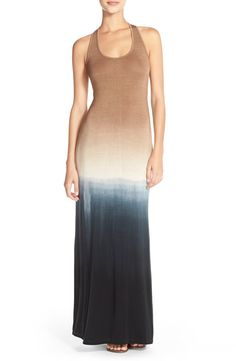 Fraiche by J Ombré Racerback Maxi Dress