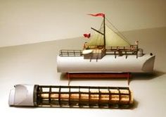"""Boat Cleopatra Paper Model - Free Download - by Waldenfont.Com  The """"Cleopatra"""" was designed and built in 1877 to transport an obelisk from Alexandria to London. This obelisk had been presented to the English nation in 1819 by Mehmet Ali, the viceroy of Egypt, in commemoration of the victories of Lord Nelson in the Battle of the Nile and Sir Ralph Abercromby in the Battle of Alexandria."""