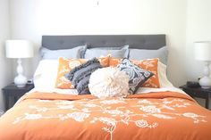 A Little Lady: DIY: Upholstered Tufted Headboard