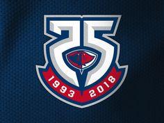 Logo Submission #1 - South Carolina Stingrays - 25th Anniversary
