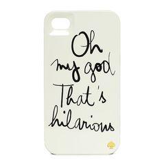 garance dore hilarious iphone case