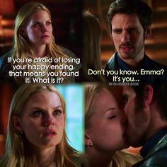 """Once Upon A Time 4x16 """"Poor Unfortunate Soul"""" - Emma and Hook :) ❤️"""