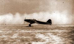 Взлетает штурмовик Ил-2 «белая 11» из состава 61-го ШАП, лето 1941 года. - «Чёрная смерть» против «Дивизии-призрака»   Военно-исторический портал Warspot.ru
