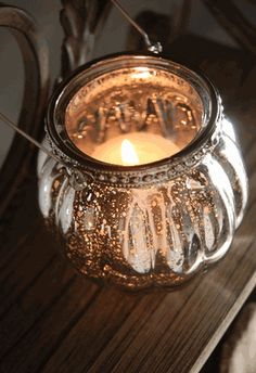 Hanging Candle Holder Mercury Glass, $9 for 3, saveoncrafts