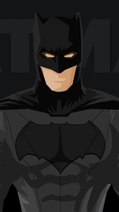 Superhero, batman, minimal, 720x1280 wallpaper