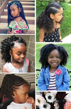 Cute Kinky Curly Short Human Hair Lace Front Cap Wigs 10 Inches For Kids Mixed Kids Hairstyles, Girls Natural Hairstyles, Baby Girl Hairstyles, Kids Braided Hairstyles, Kids Crochet Hairstyles, Popular Hairstyles, Weave Hairstyles, Curly Crochet Hair Styles, Curly Hair Styles