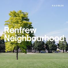 East Vancouver's Renfrew neighbourhood offers a strong sense of community and is vibrantly multicultural.  Very family-oriented, there are plenty of services and amenities within a short distance, including public and private schools, access to major transit lines, shopping, and parks. Whether you're wanting to know more about the neighbourhood, or are ready to look at listings, The R & D Group team is here to support you: info@ruthanddavid.com 604.782.2083 #Vancouver #realestate Sunrise Park, Public Elementary School, Italian Deli, East Village, Picnic Area, Secondary School, Private School, Investment Property, Dog Friends