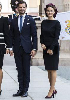 King Carl XVI Gustaf, Queen Silvia, Crown Princess Victoria, Prince Daniel, Prince Carl Philip and Princess Sofia at Riksdag Princess Sofia Of Sweden, Princess Sophia, Princess Victoria Of Sweden, Crown Princess Victoria, Royal Family Trees, Greek Royal Family, Danish Royal Family, Prinz Carl Philip, Royal Family Portrait