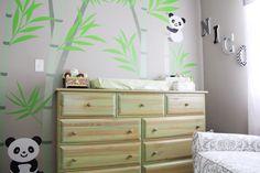 Panda Themed Baby Nursery