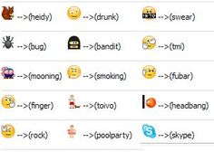 emoticon skype da