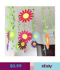 $0.99 - Handmade Cloth Sun Flower Wall Hanging Home Childs Room Garden Ball Decorations #ebay #Home & Garden