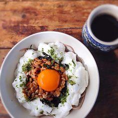 白身をふわふわのメレンゲにするととっても美味しいですよー♬ - 22件のもぐもぐ - ふわふわメレンゲ納豆蕎麦 by shiduku