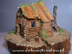 there are miniatures of gnome houses