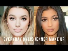 Everyday Kylie Jenner Inspired Make up tutorial! | Rachel Leary - YouTube