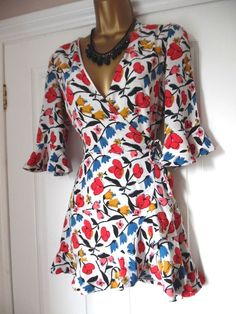 5b58e8269f ZARA Floral Print Playsuit Size S  fashion  clothing  shoes  accessories   womensclothing