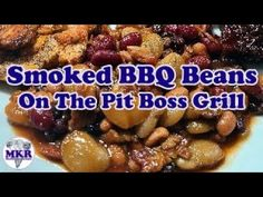 SMOKED BBQ Beans On The Pit Boss Pro Series 1100 Bbq Beans, Smoke Bbq, Smoker Recipes, Other Recipes, Barbecue, Boss, Make It Yourself, Smoking Recipes, Barbacoa
