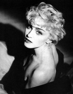 Beautiful shot of Madonna