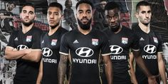 Terceira camisa do Lyon 2016-2017 Adidas