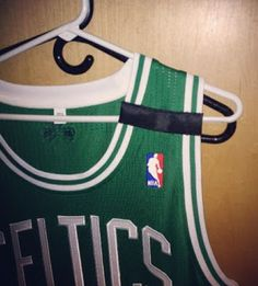 THE SNEAKER ADDICT: Boston Celtics will wear black stripe on their jerseys tonight in honor of victims of Mondays tragedy #CelticsNation