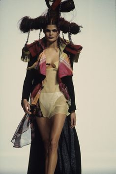 See the complete John Galliano Spring 1993 Ready-to-Wear collection.
