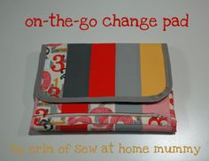 Sew Lux Fabric : Blog: Design Challenge Tutorial: Portable Change-Pad with…