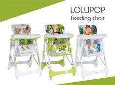 Столче за хранене LOLLIPOP от Lorelli – ревю