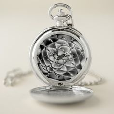 Chrome Distraction Pocket Watch