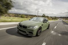 #BMW #F10 #M5 #Sedan #ArmyGreen #Provocative #Eyes #Monster #Strong #Muscle #Burn #Live #Life #Love #Follow #Your #Heart #BMWLife