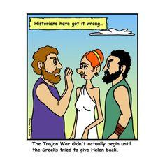 Trojan War Humor