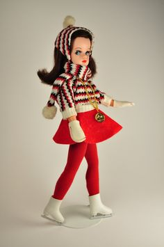 Sindy Pedigree Doll with ice skater outfit
