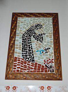desenho de sao francisco de assis em mosaico - Pesquisa Google