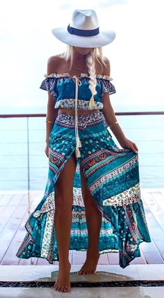 a beautiful two piece gypsy girls are in love with