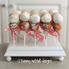 Breakfast idea...donuts on a stick