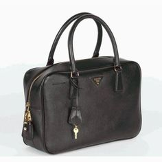 SG$280.00 Official Prada Saffiano Leather Doctor Bag Bl0094 In Black Italy