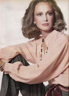 Yves Saint Laurent  Vogue US - January 1974  Karen Graham by Irving Penn