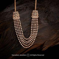 Diamond Pendant, Diamond Jewelry, Gold Jewelry, Beaded Jewelry, Stone Jewelry, India Jewelry, Temple Jewellery, Gold Models, Necklace Designs