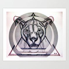 Jungla de Cemento Art Print by Brave_Corona - $16.64