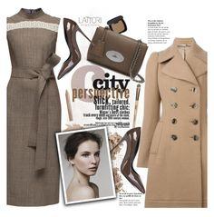 """Lattori dress:Chic Style"" by pokadoll ❤ liked on Polyvore featuring Lattori, Alexander McQueen, Bare Escentuals, Mulberry, Dolce&Gabbana, Bobbi Brown Cosmetics, Estée Lauder, women's clothing, women's fashion and women"