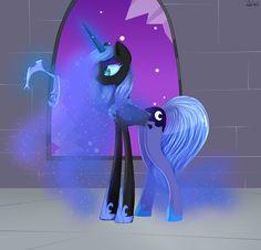 Luna to Nightmare Moon