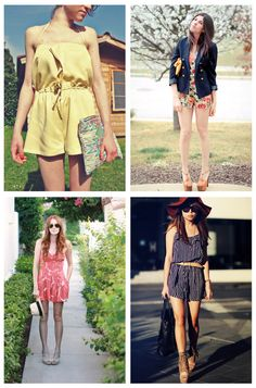 Style Crush: The Playsuit