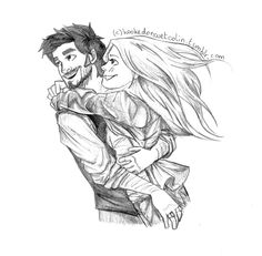 Once Upon a Time | Captain Swan Fan Art ♡ I LOVE THIS